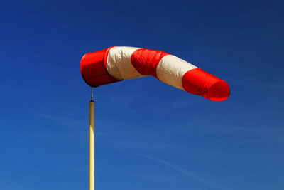 Windsack - Windrichtung bestimmen