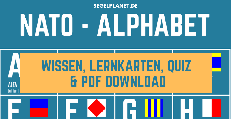 NATO Alphabet - PDF Download, Lernkarten, Quiz