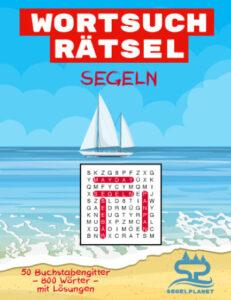 Wortsuchrätsel Segeln Cover - Segelplanet.de