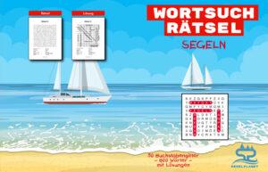 Wortsuchrätsel Segeln Cover Full - Segelplanet.de