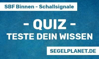 Quiz - SBF Binnen Theorie - Schallsignale
